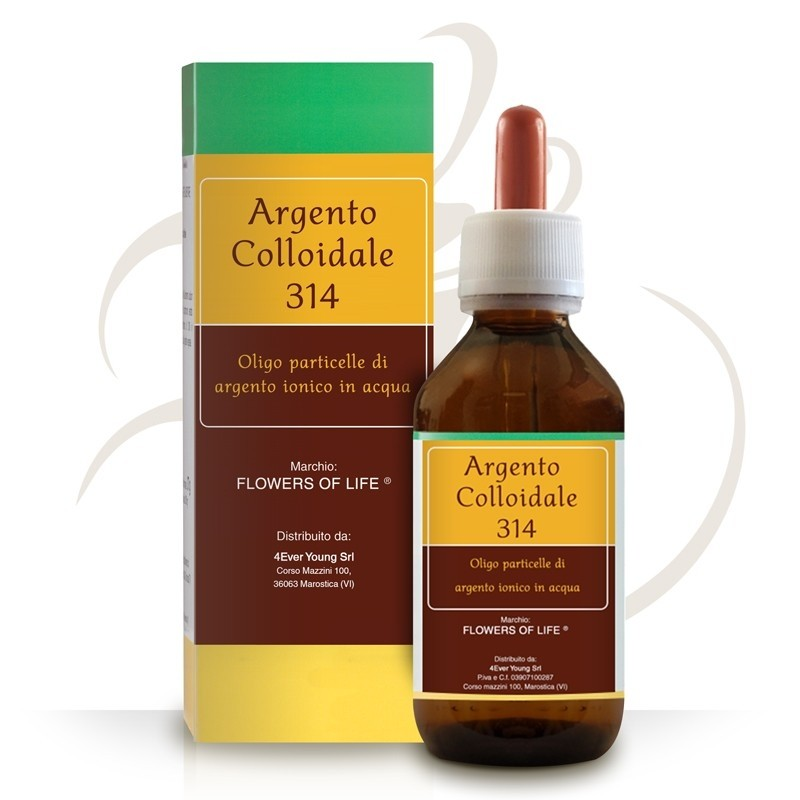 Argento Colloidale Ionico 40ppm 50ml