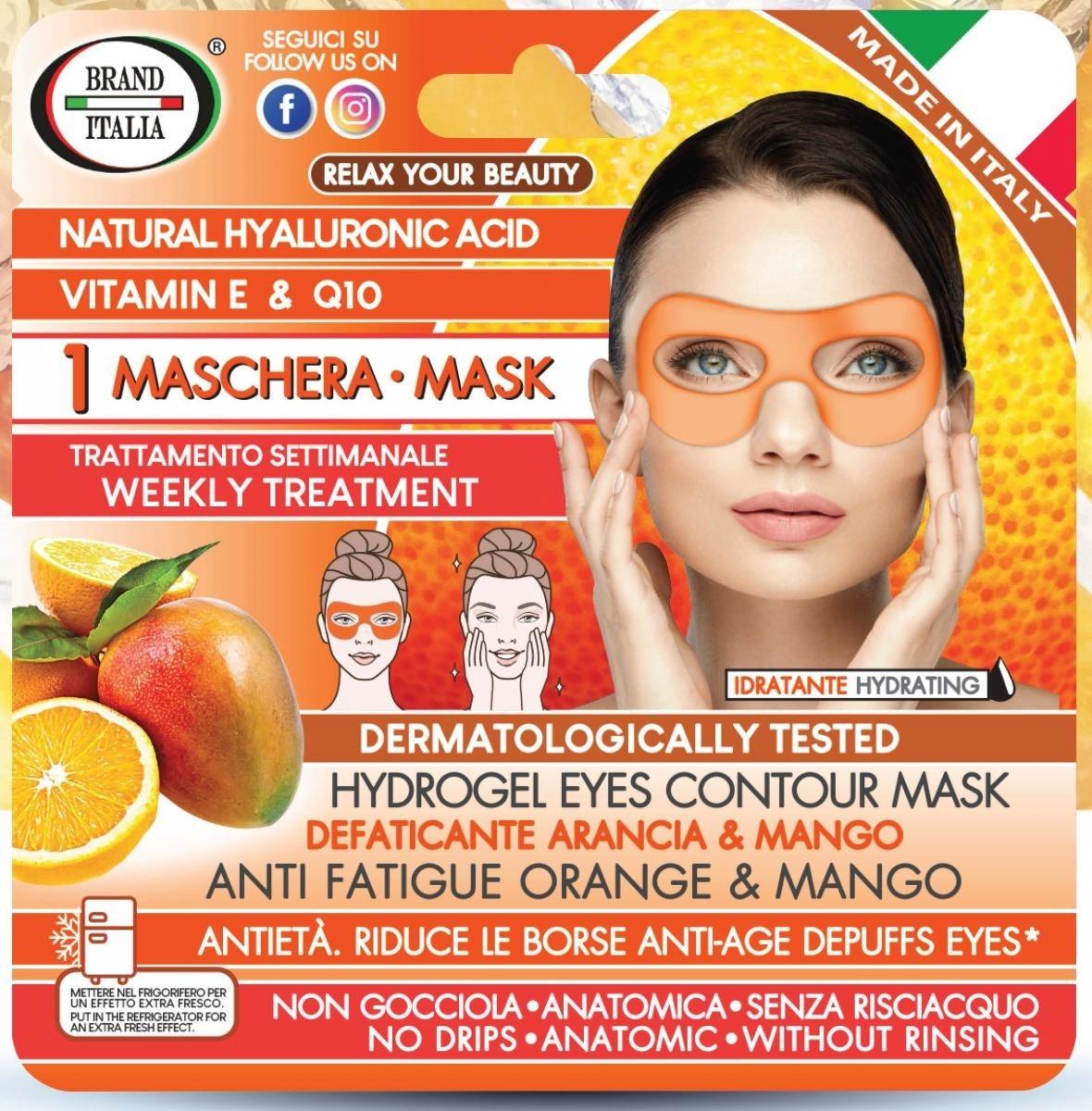 Maschera Antietà Defaticante Arancia e Mango