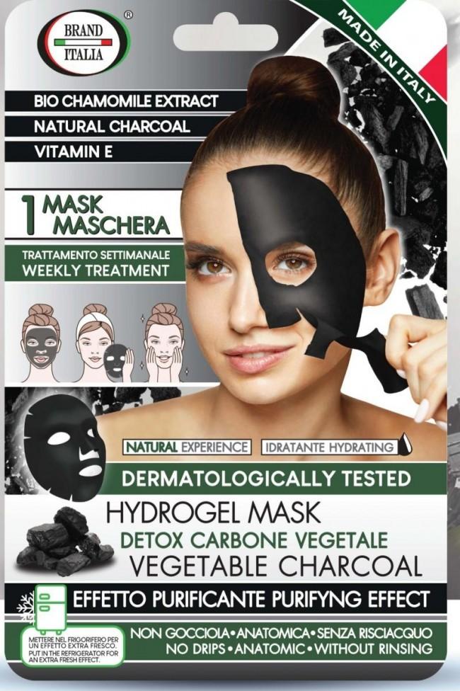 Maschera Carbone Vegetale Purifcante