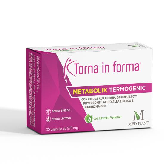 Torna in forma Metabolik Termogenic