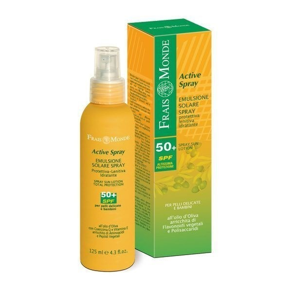 Emulsione Solare Spray 50+spf 125ml